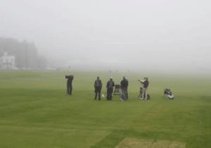 Golfing-in-fog