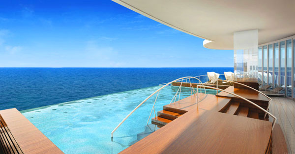 luxury cruising