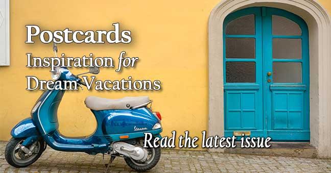 Postcards Travel Brochures & Ezines