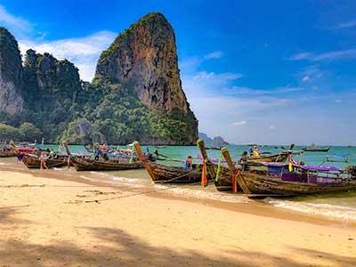 Asia Cruises 2023 Thailand Beach