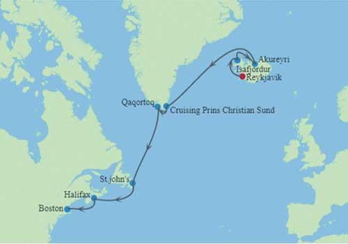 Aegean-&-Ionian-Gems-Itinerary Map